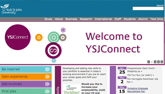 YSJ Connect website