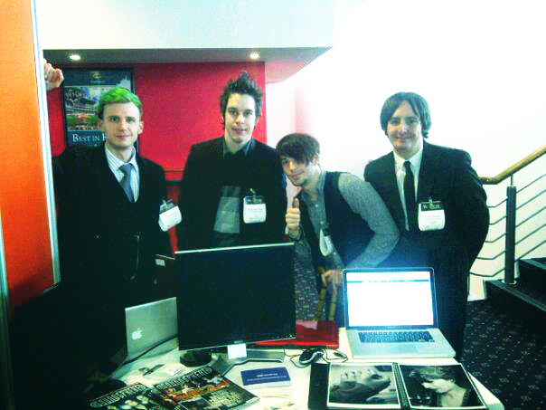 The Creative Condition team at Venturefest Yorkshire 2012