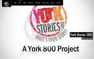 York Stories 2012