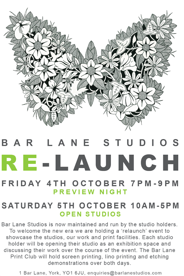 Bar Lane Relaunch