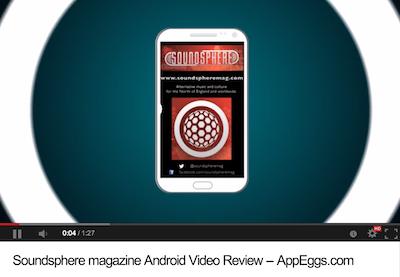 Soundspheremag app