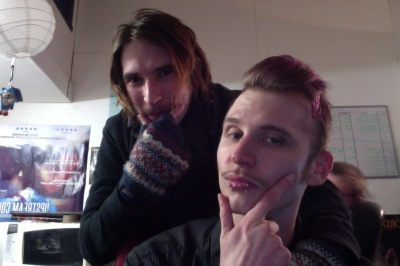 Dom and Jay mobro